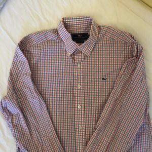 Preowned Vineyard Vines T-shirt sz M 100%cotton